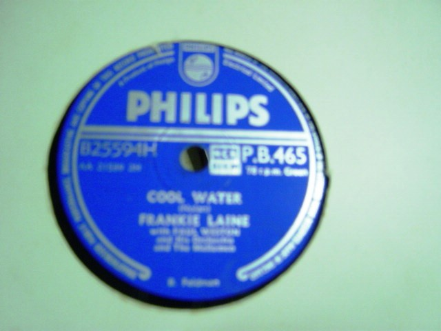 Frankie Laine - Cool Water - Philips PB 465